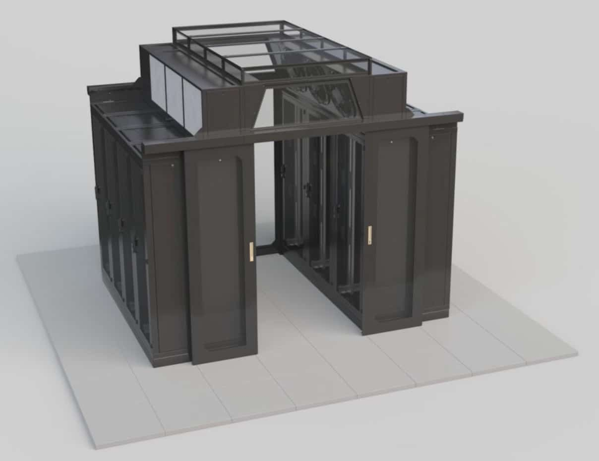 ODC - Toiture soufflante data center