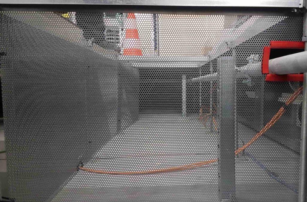 Laminage – passivation des flux d'air soufflés en plénum