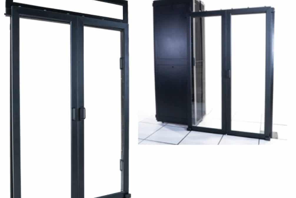 Porte coulissantes «Plug & Close» à fixation magnétique