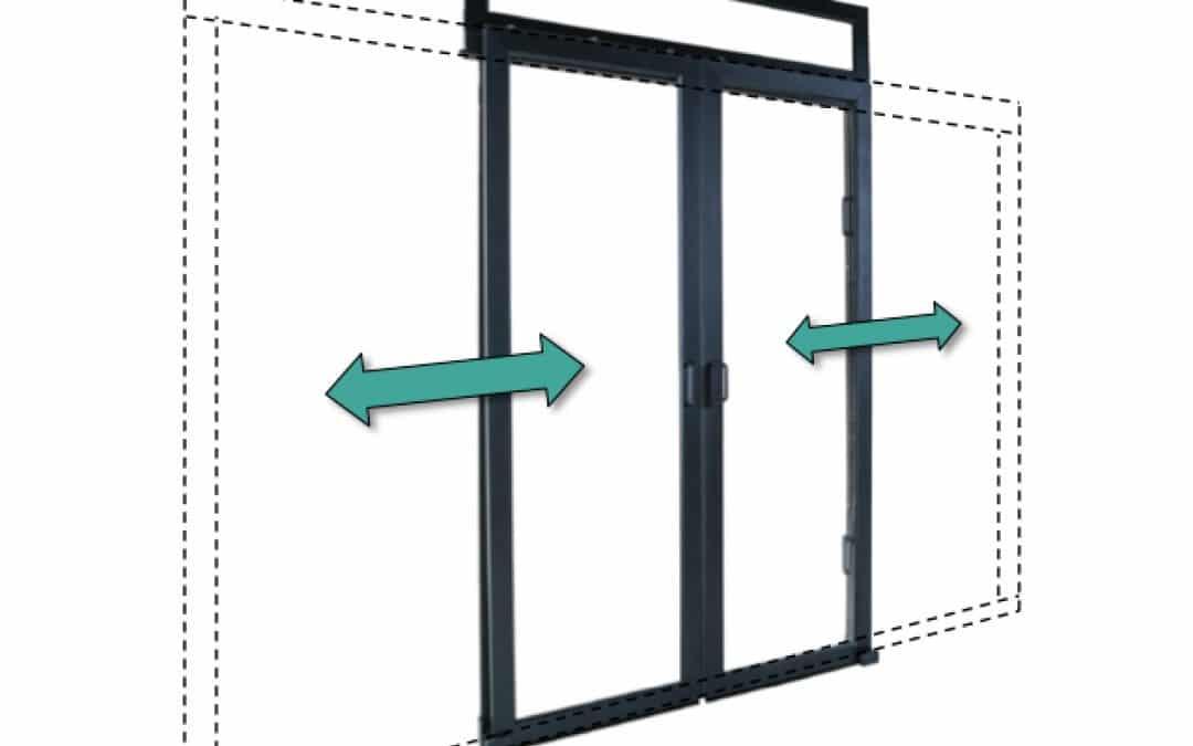Porte coulissantes «Plug & Close»