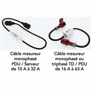 Cables électriques mesureurs sans fil